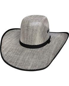 b8add57ab3cc8 Bullhide Men s Shades of Black 50X Straw Cowboy Hat