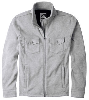 Mountain Khakis Men's Grey Old Faithful Sweater Jacket, Grey, hi-res