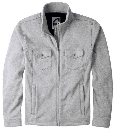 Mountain Khakis Men's Grey Old Faithful Sweater Jacket, Grey, hi-res