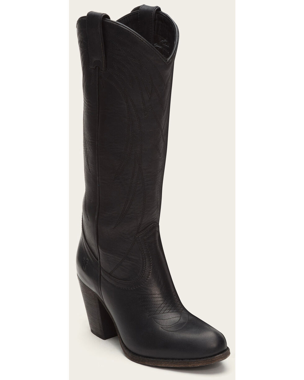 Frye Women's Black Ilana Pull On Boots - Medium Toe , Black, hi-res