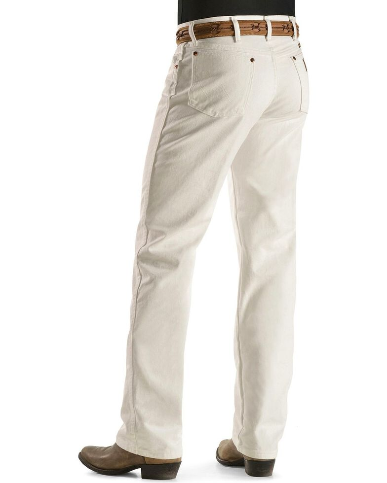 Wrangler 13MWZ Cowboy Cut Original Fit Jeans - Prewashed Colors, White, hi-res