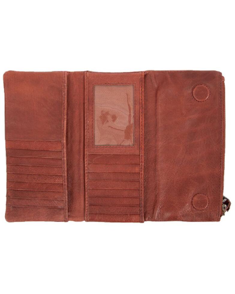 STS Ranchwear By Carroll Women's Reddish Brown Mesa Wallet, Russett, hi-res