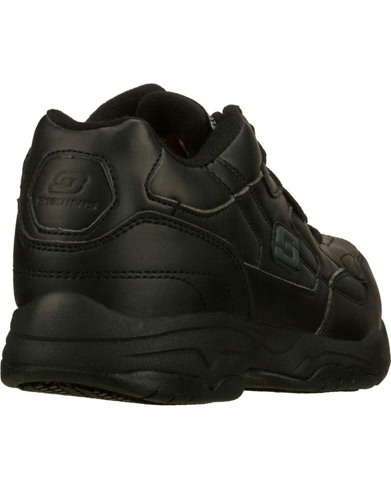 Skechers Women's Black Felton Albie Slip Resistant Work Shoes