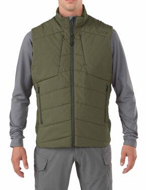 5.11 Tactical Men's Insulator Vest, Green, hi-res
