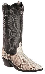 6604f80abda96 Laredo Key West Python Cowboy Boots - Medium Toe