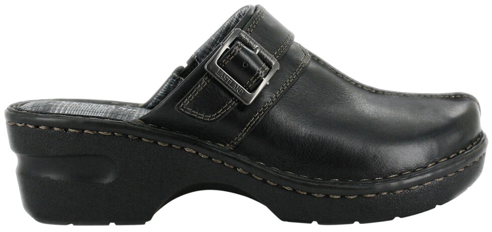 Eastland Women's Black Mae Clogs, , hi-res