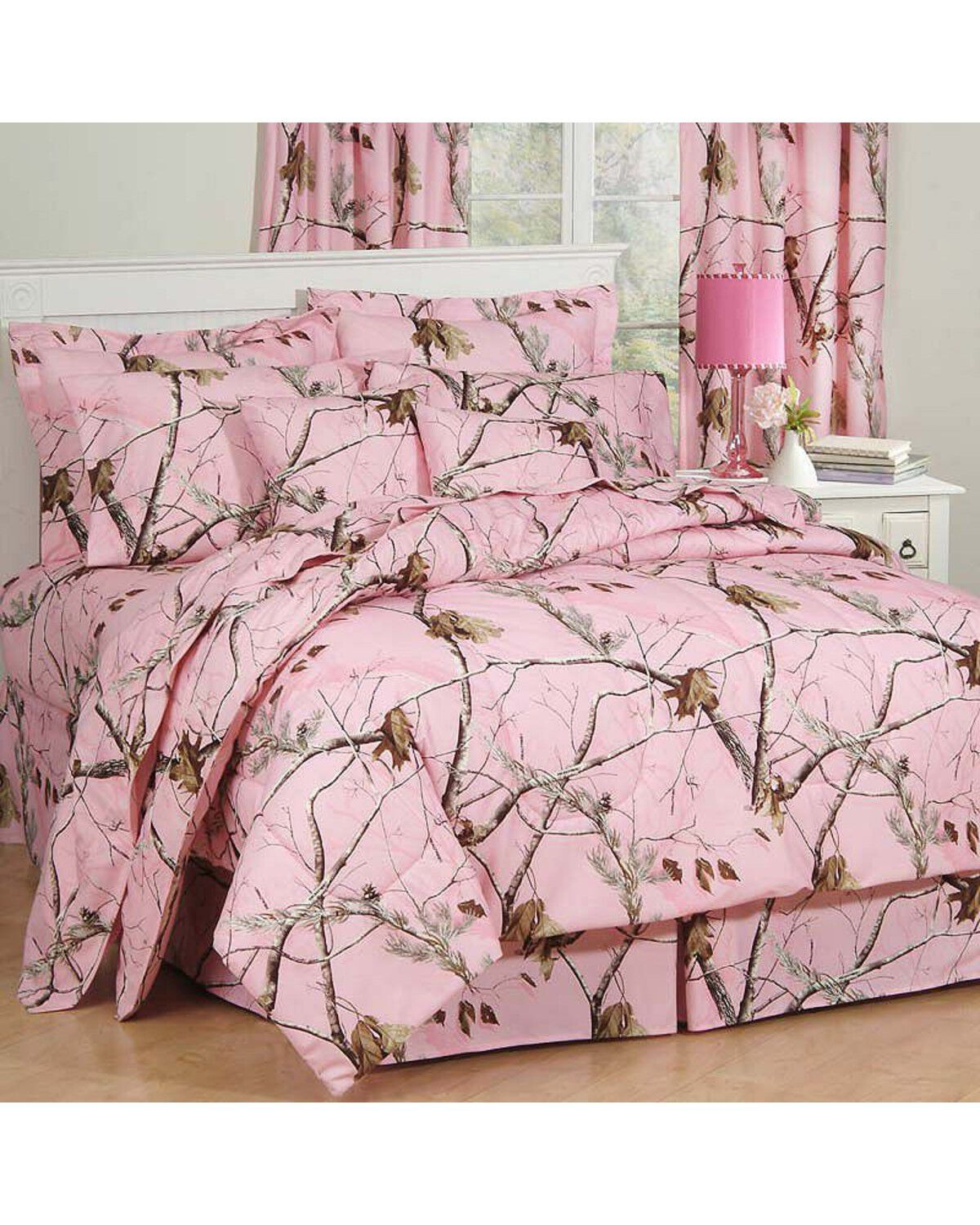 Realtree AP Pink Full Comforter Set, Pink, Hi Res