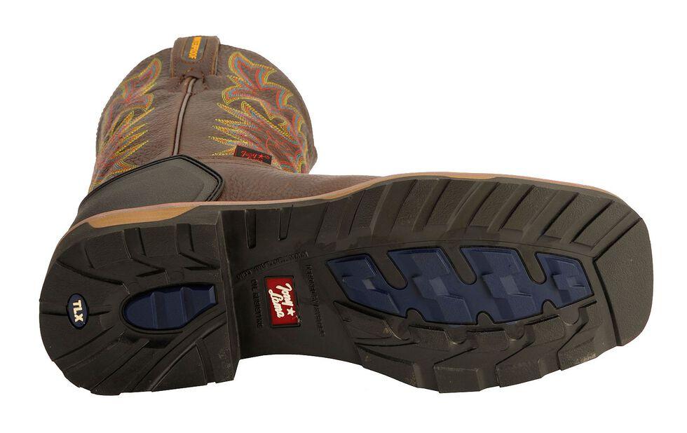 Tony Lama Bark Badger Waterproof Work Boots, Bark, hi-res
