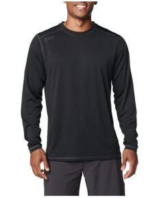 5.11 Tactical Men's Range Ready Long Sleeve Work T-Shirt , Black, hi-res
