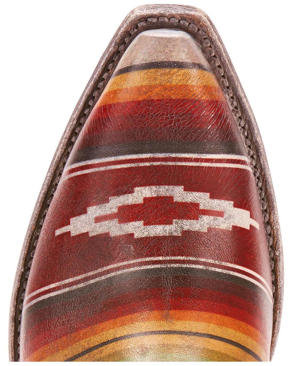 Ariat Women's Circuit Cruz Saddle Blanket Western Boots -  Snip Toe, Brown, hi-res