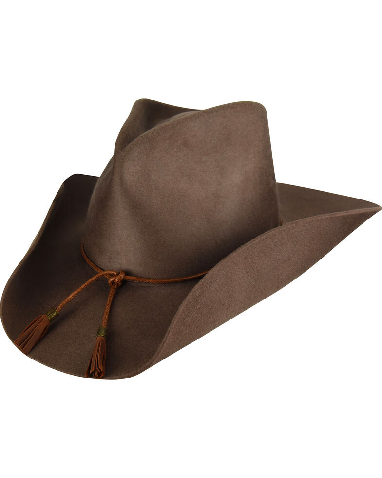 Bailey Men s Brown Lexington Wool Felt Cowboy Hat  a46e60dc4e3b