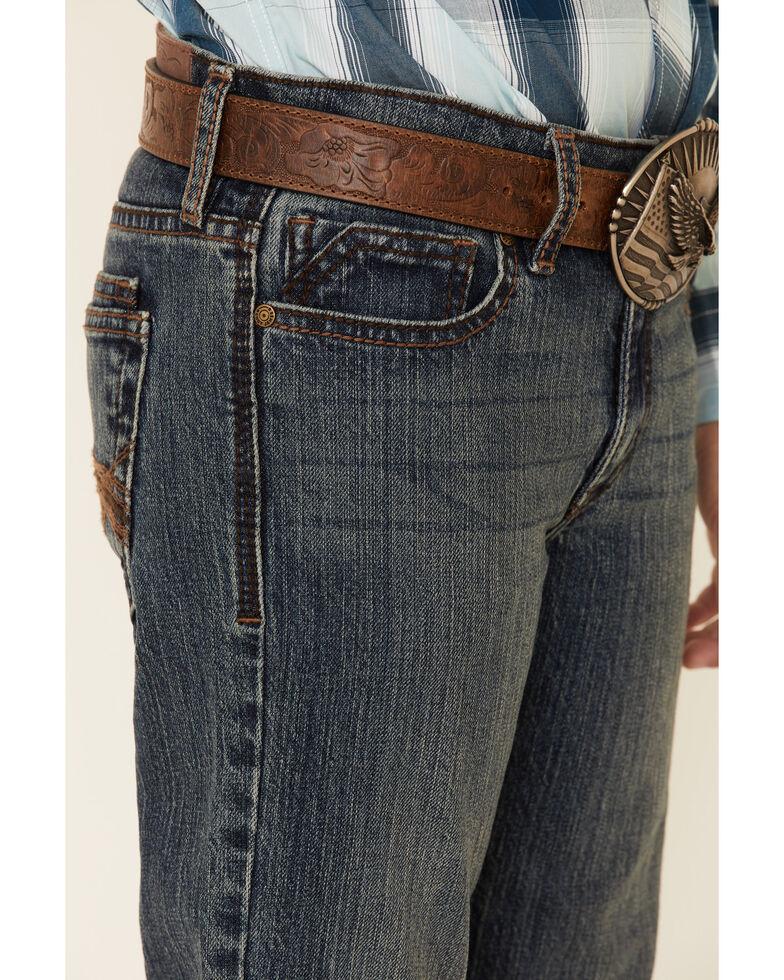 Cody James Boys' 8-20 Steel Dust Stretch Slim Straight Jeans , Blue, hi-res