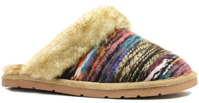 Lamo Footwear Women's Juarez Scuff Slippers, Chestnut, hi-res