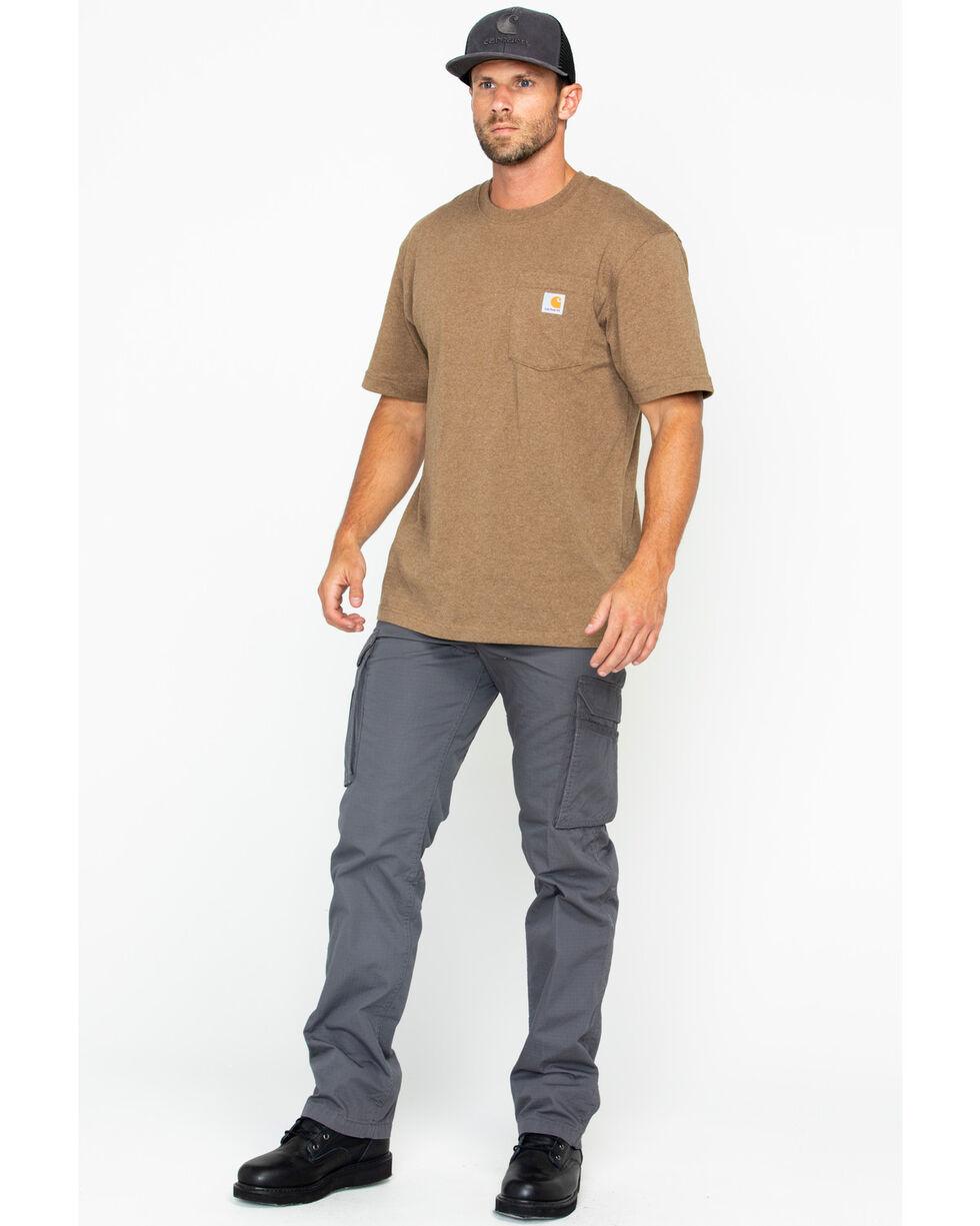 Carhartt Men's Workwear Pocket T-Shirt, Brown, hi-res