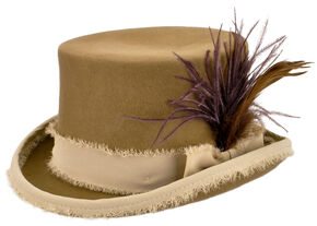 Renegade by Bailey Women's Tan Vivienne Top Hat , Tan, hi-res