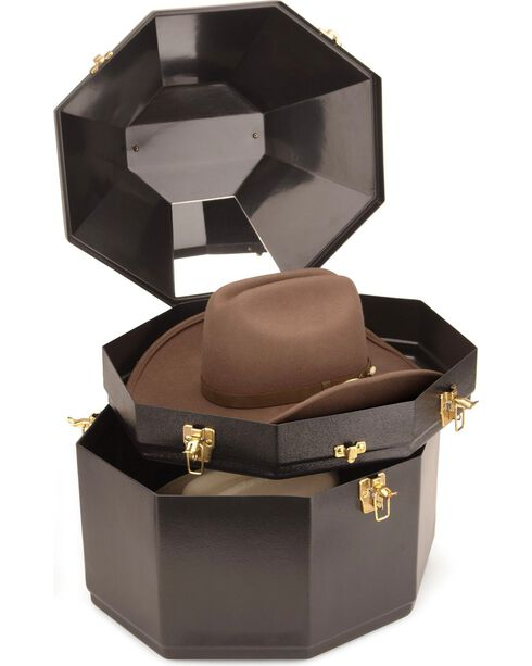 Double Stack Hat Can, Black, hi-res