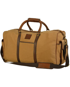 STS Ranchwear Foreman Canvas Travel Bag, Natural, hi-res