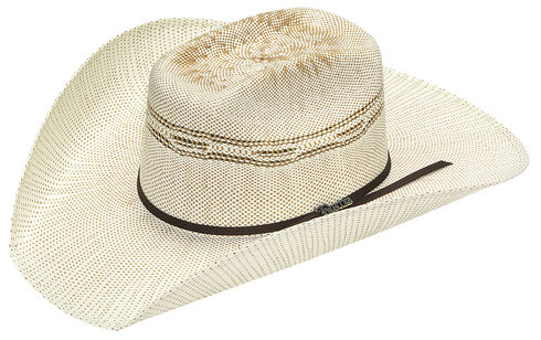 Twister Added Money Brick Two Tone Bangora Hat - Tan, Natural, hi-res