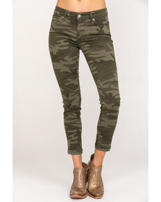 Levi's Women's 711 Camo Skinny Ankle Jeans, Camouflage, hi-res