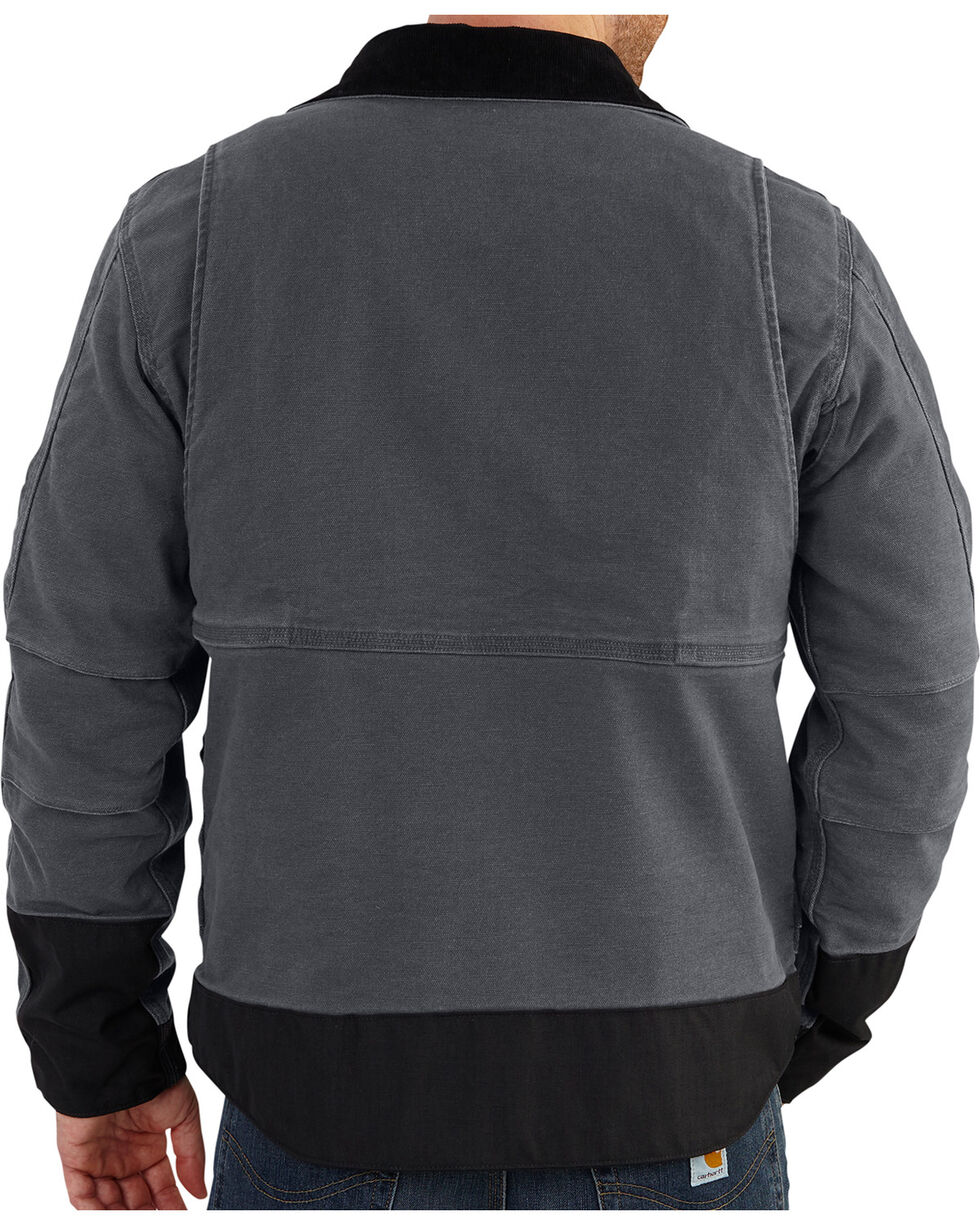 Carhartt Men's Full Swing Caldwell Jacket - Big & Tall, Shadow Black, hi-res