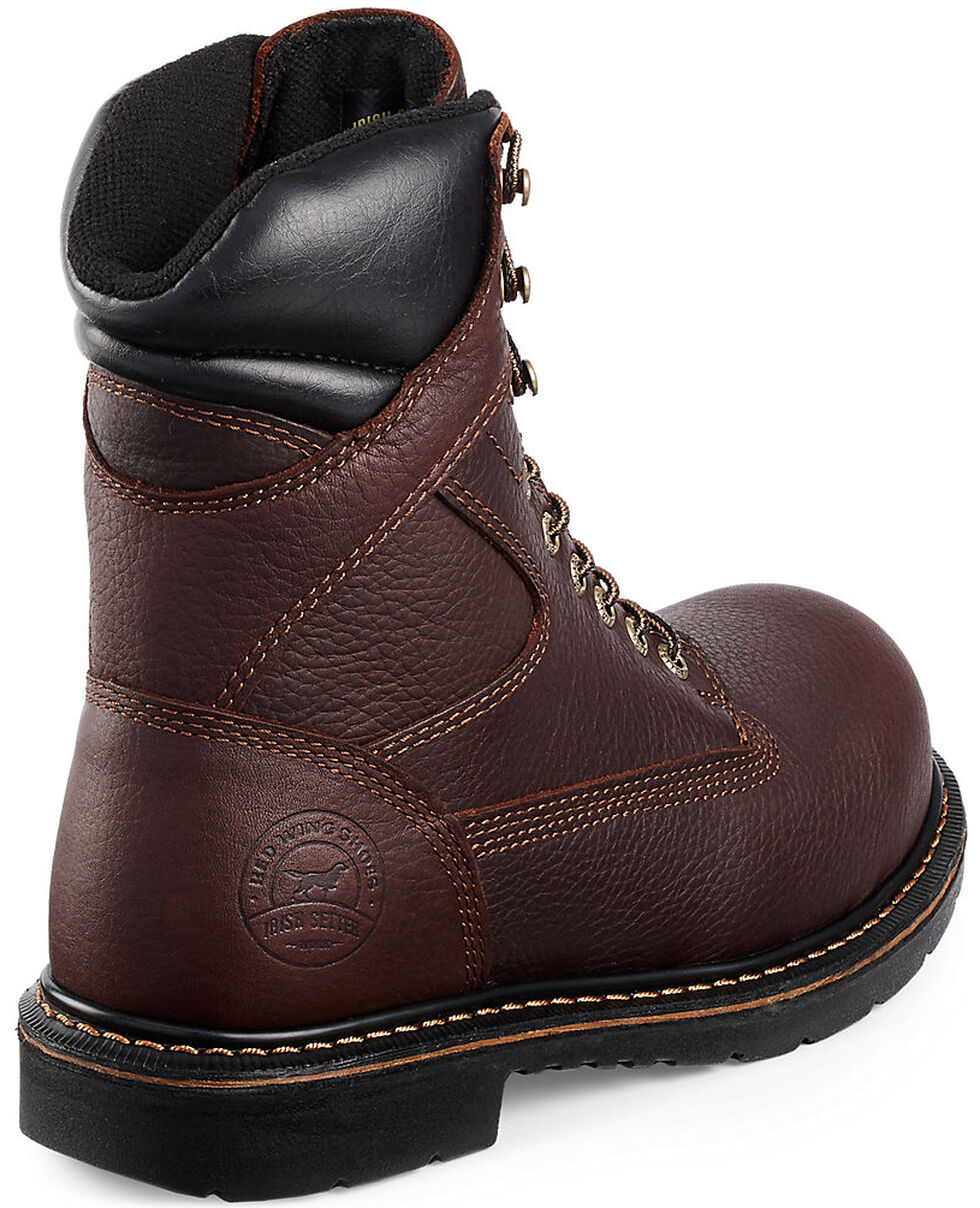 Irish Setter by Red Wing Shoes Men's Farmington Lace-Up Work Boots- Steel Toe , Brown, hi-res