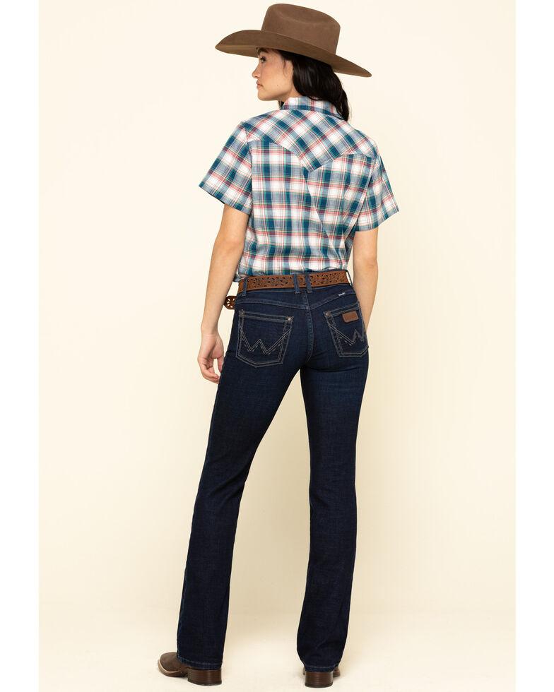Wrangler Retro Women's Branan Mae Bootcut Jeans , Blue, hi-res