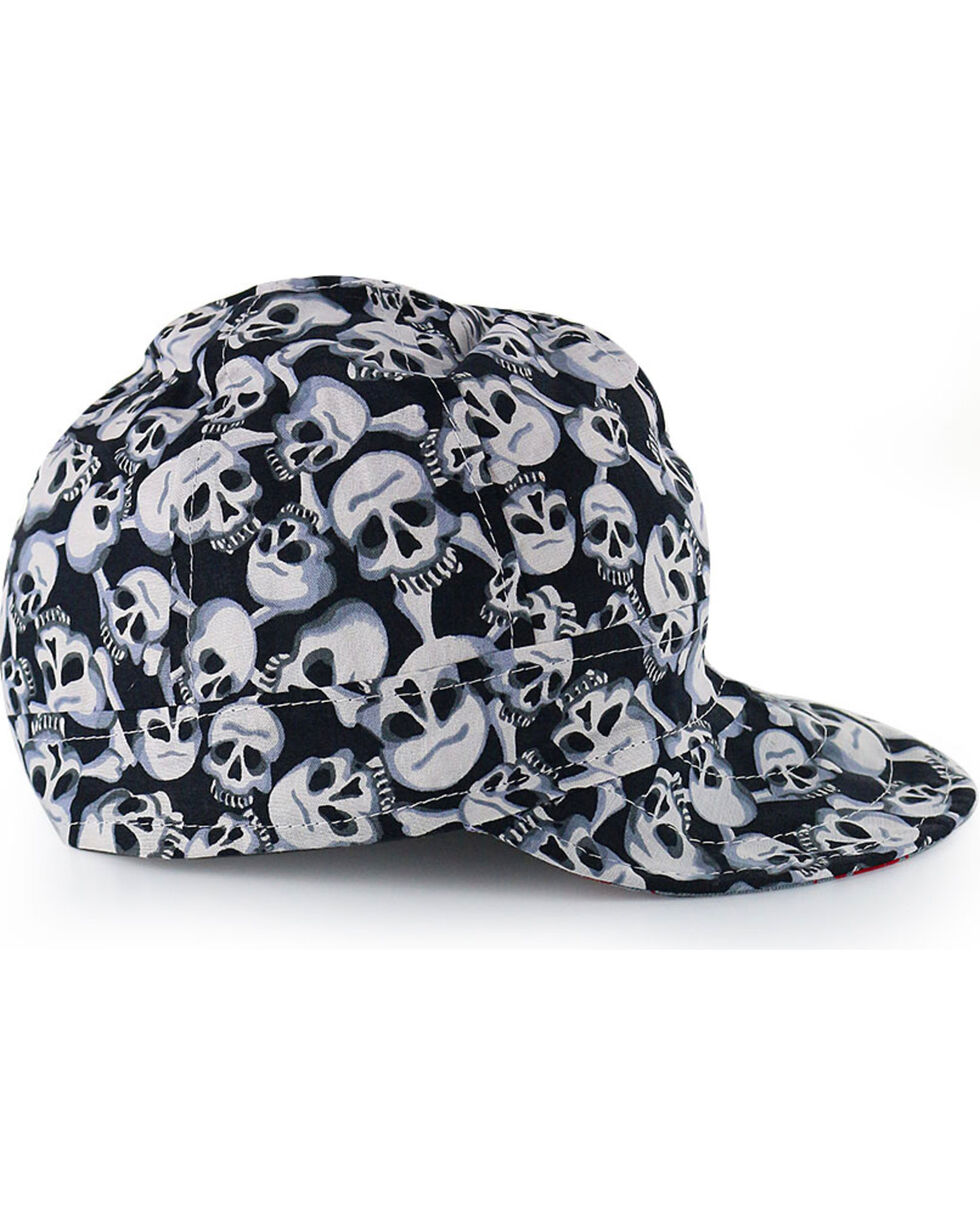 American Worker Men's Skulls Welding Cap, Multi, hi-res