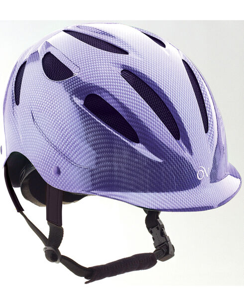 Ovation Women's Protege Riding Helmet, Purple, hi-res