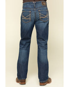 Ariat Men's M2 Prescott Stackable Relaxed Bootcut Jeans , Blue, hi-res
