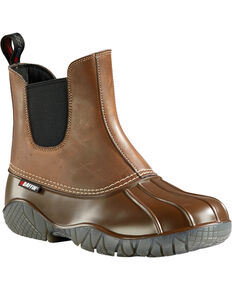 Baffin Men's Great Lake Series Huron Boots - Round Toe, Brown, hi-res