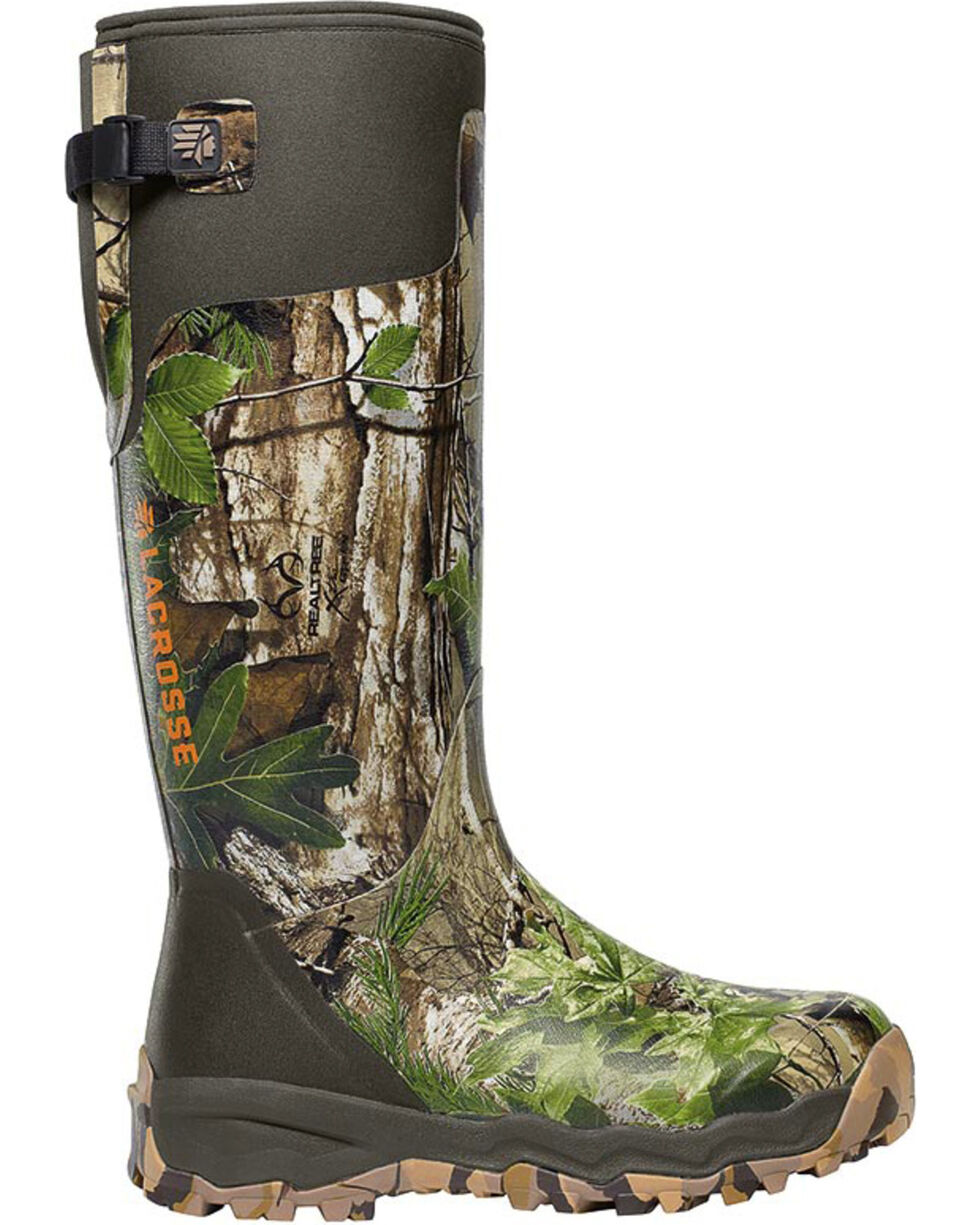 LaCrosse Men's Alphaburly Pro Realtree Xtra Hunting Boots - Round Toe , Camouflage, hi-res