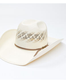 American Hat Co. Sand Minnick Cord Straw Western Hat , No Color, hi-res