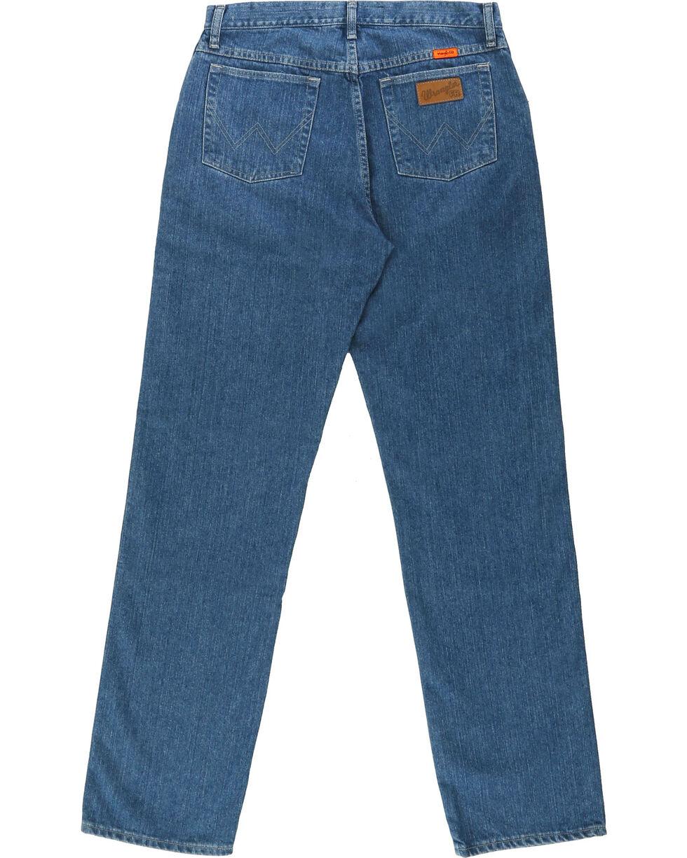 Wrangler® Men's Blue FR Cool Vantage Regular Fit Jeans, Blue, hi-res