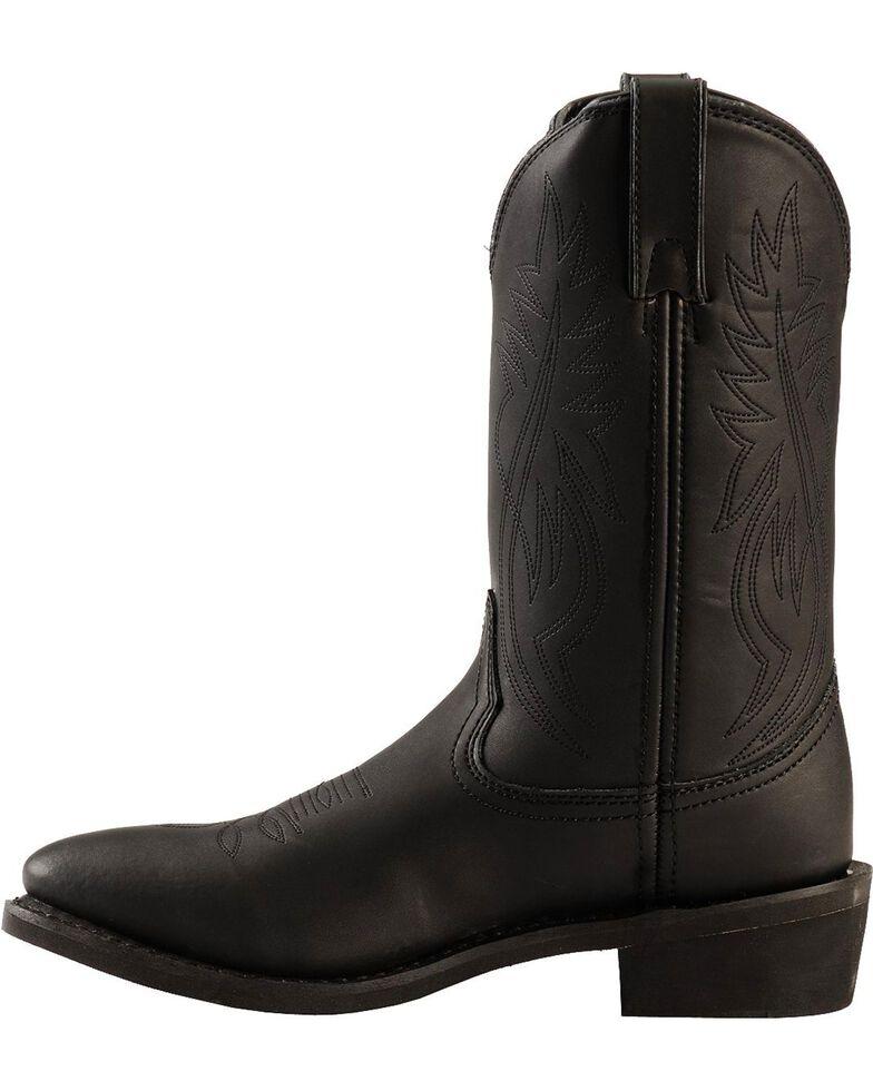 Justin Men's Butch Farm & Ranch Cowboy Work Boots - Medium Toe, Black, hi-res