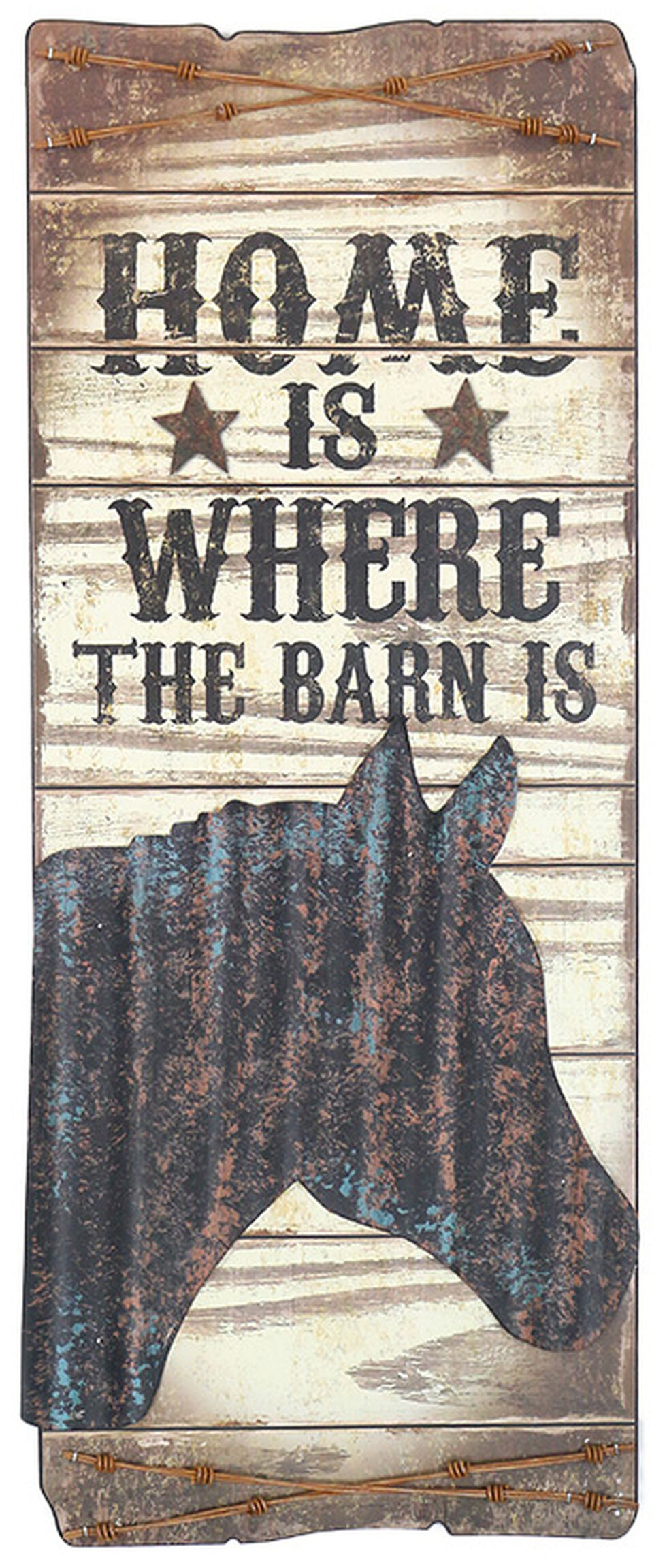 Gift Craft Home Is Where the Barn Is Wall Decor, No Color, hi-res