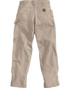 Carhartt Canvas Work Dungaree Work Pants, Tan, hi-res