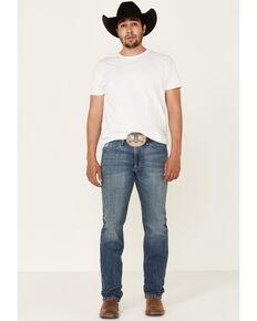 Cinch Men's Sliver Label Performance Stretch Slim Straight Jeans , Indigo, hi-res