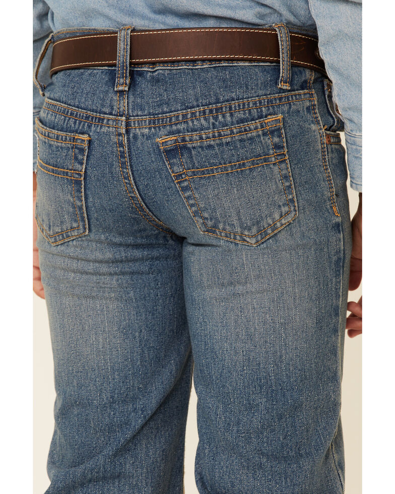 Cinch Boys' White Label Jeans - 8-18 Regular, Denim, hi-res