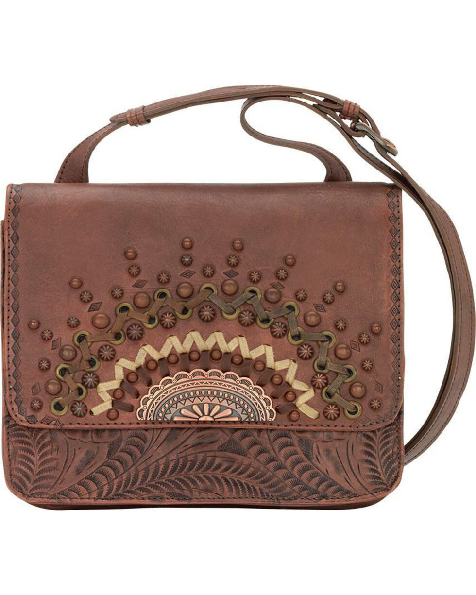 American West Women's Bella Luna Crossbody Purse, , hi-res