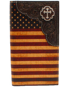 Cody James Men's Vintage Americana Rodeo Wallet, Multi, hi-res
