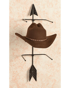 BB Ranch Iron Arrow Hat Holder, Black, hi-res