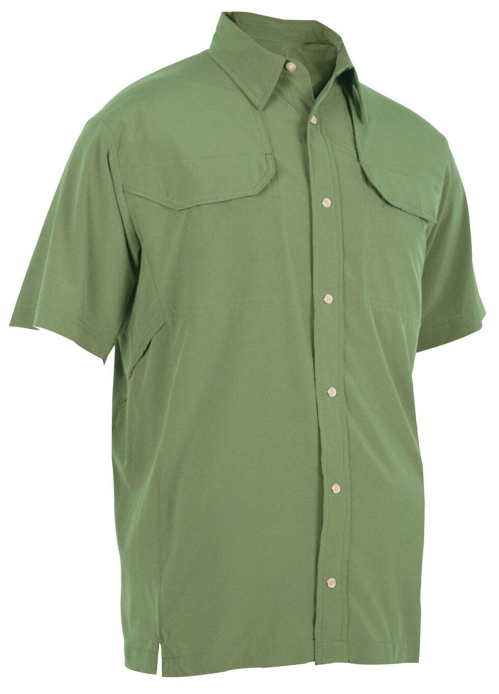 Tru-Spec Men's 24-7 Cool Camp Shirt, Olive, hi-res