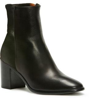 Frye Women's Black Julia Booties - Round Toe , Black, hi-res