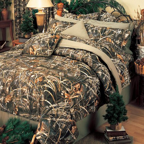 Realtree MAX-4 California King Comforter Set, Camouflage, hi-res