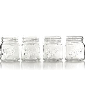 Urban Trend Set of 4 Mason Jar Shot Glasses, No Color, hi-res