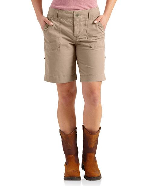 Carhartt Women's Relaxed Fit El Paso Shorts, , hi-res