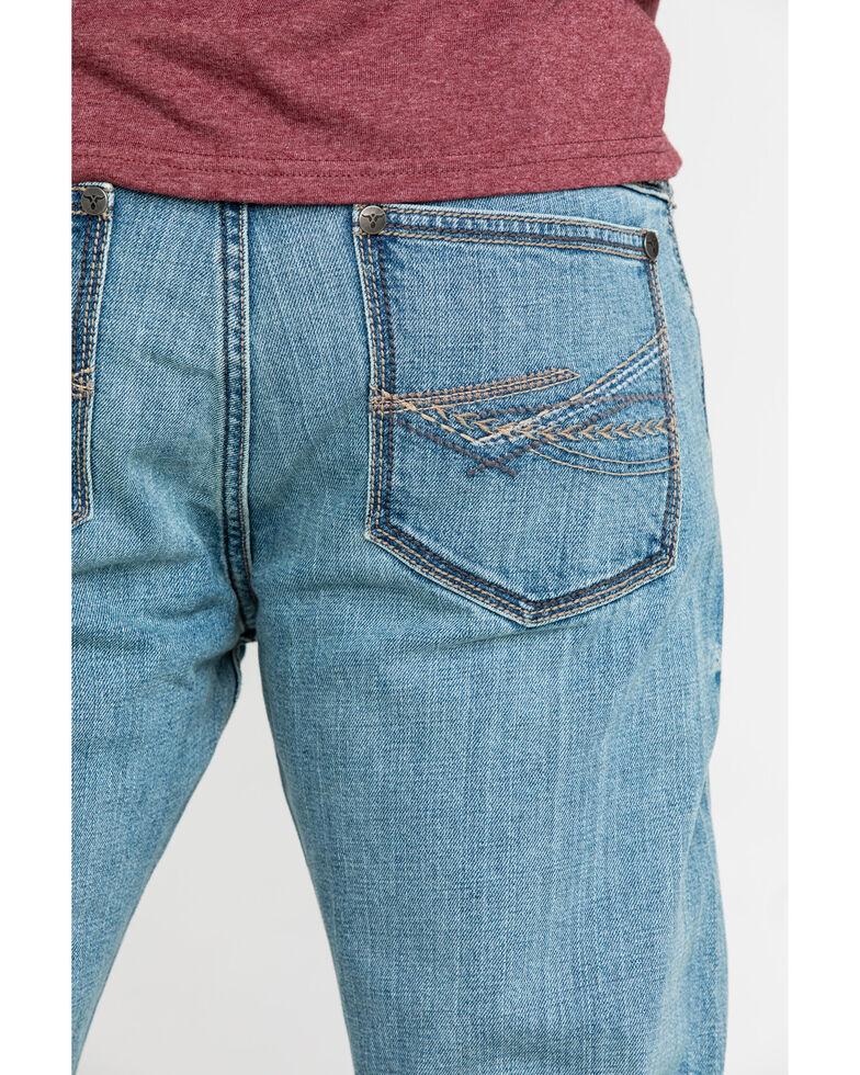Wrangler 20X Men's No. 42 Light Vintage Stretch Slim Bootcut Jeans , Blue, hi-res