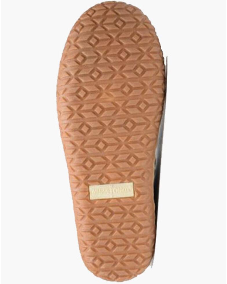 Minnetonka Men's Brown Taft Slippers - Moc Toe, Brown, hi-res