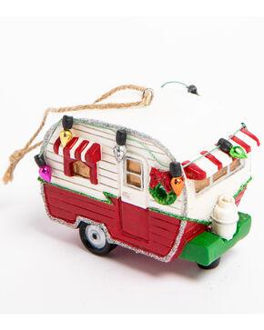 BB Ranch Glitter Camper Ornament, Red, hi-res