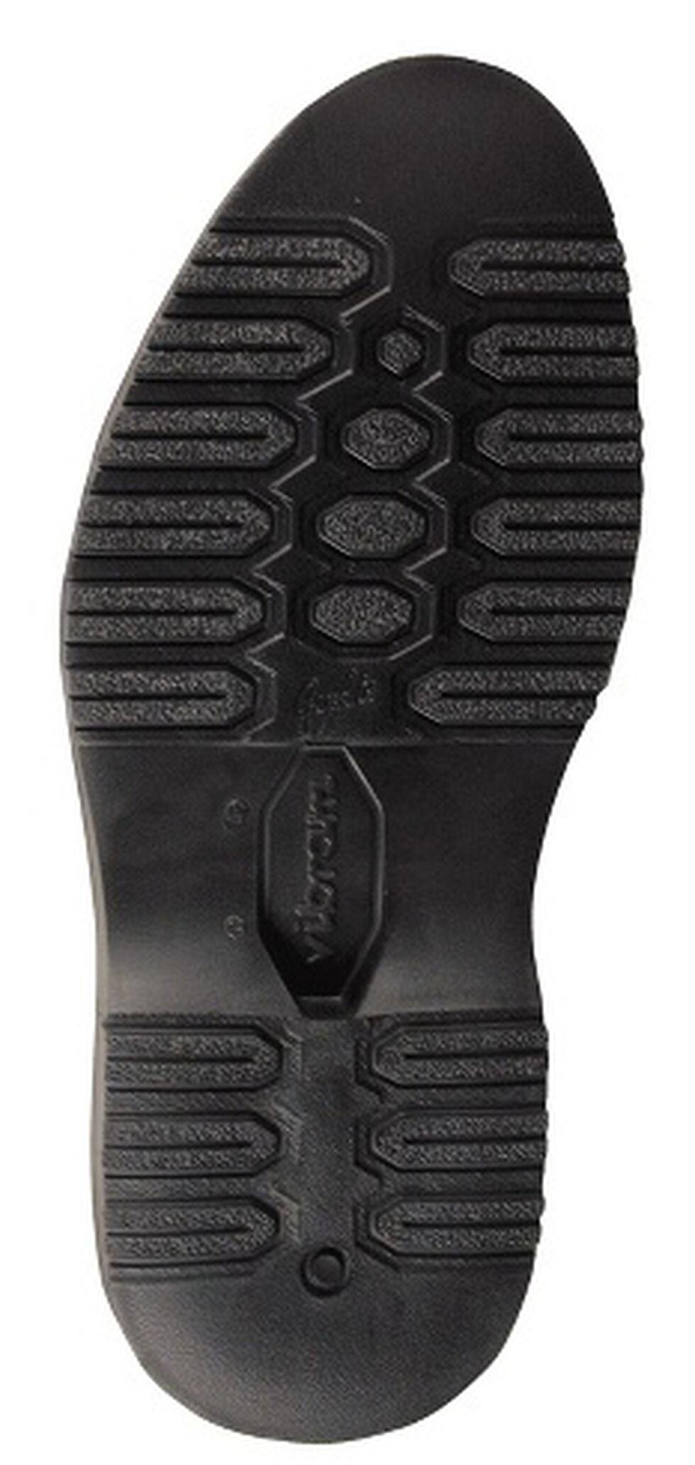 Chippewa Back Zipper Pull-On Snake Boots - Mocc Toe, Mahogany, hi-res